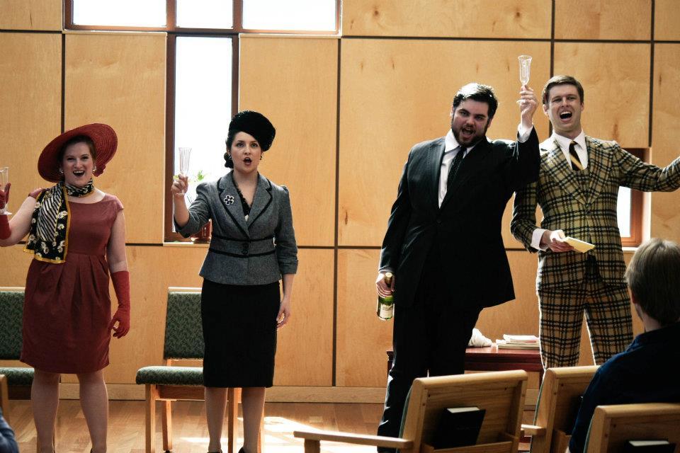 Finale from Mozart's Der Schauspieldirektor (2012)